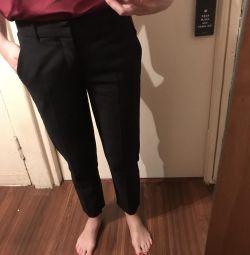 Чeрные брюки Zara xs