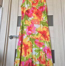 Rochie de vară cu flori 44