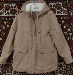 Jacket with a hood Ostin female
