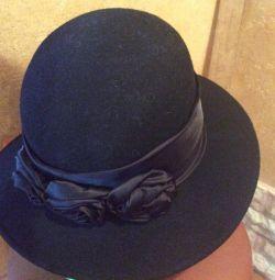 Women's new velor hat