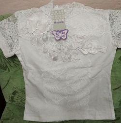 Bluză tricou Fata