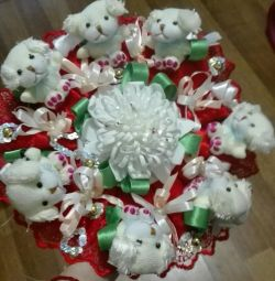 Bouquet of dogs (7 pieces) !!!