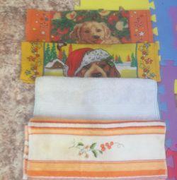 Πετσέτα σετ (αναστρέφοντας) μικρές πετσέτες