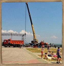 Υπηρεσίες γερανών φορτηγών από 16 έως 50 τόνους