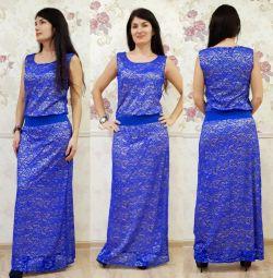 Новые платья из гипюра 46,48,50
