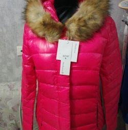 Autumn new women's down jacket