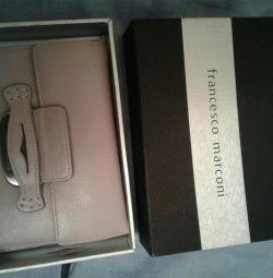 For sale new women's wallet Francesco Marconi.