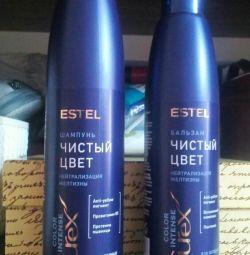 Estel Shampoo and Balsam