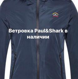 Paul & Shark windbreaker slim new