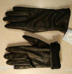 Δερμάτινα γάντια. Νέες.