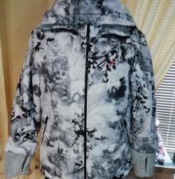 Нова зимова куртка, лeгкая і тeплая. Мембранкі.