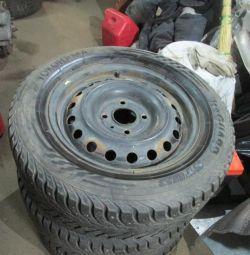 Колесо железо для Nissan Tiida (C11) 2007-2014