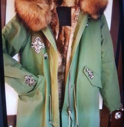 New Italian park natural fur original