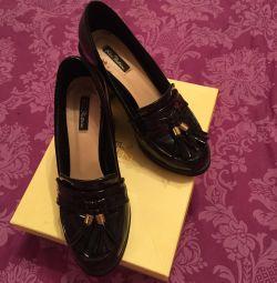 Cyrus Platinum Shoes