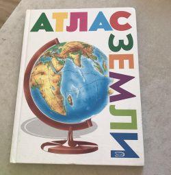Earth atlas book