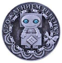 Монета - оберег новая подарок на кашу