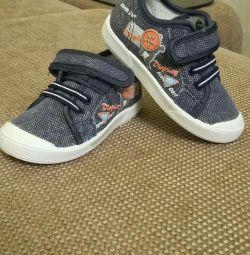 παιδικά πάνινα παπούτσια Kotofey (νέο)