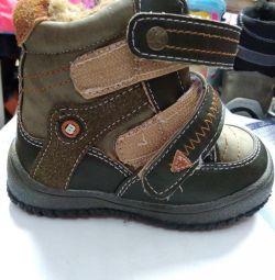 Pantofi noi p24, iarna