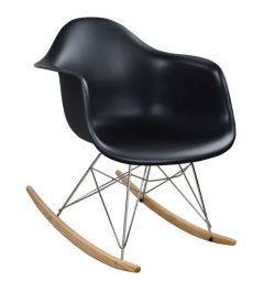 KOUNDRY ARMCHAIR WITH SEAT MIRTO BLACK HM0035.0
