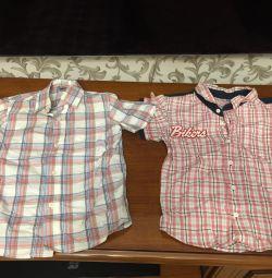 4-5 yaş gömlek