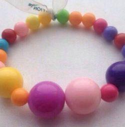 The bracelet is new.