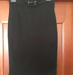 Pencil skirt Gucci Italy S 42 44 46 M black class
