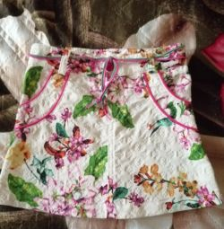 Skirt for a girl under 3 years old, new