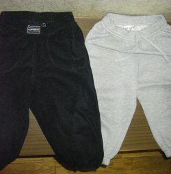 Мягкие штанишки на1-2года