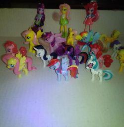 Мини игрушки My little pony