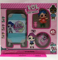Набор Кукла Лол Сюрприз (чемодан , Кукла , шарик )