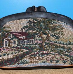 Eski goblen el çantası