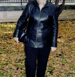 Ladies' genuine leather jacket size 46-48