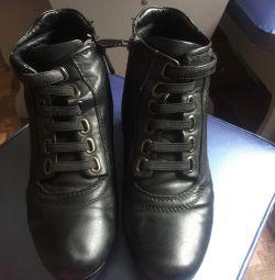 Γυναικείες μπότες (demi) Μπότες σφήνες (χειμώνα)