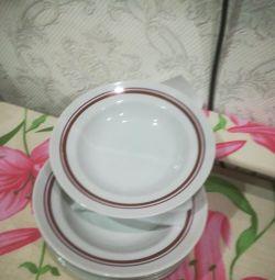 6pcs plates 250r