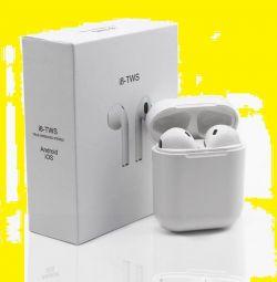 Ασύρματα ακουστικά i8-TWS με βάση. σταθμό. Νέα