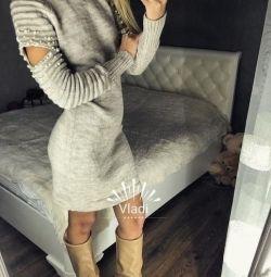Rochie tricotata pentru femei
