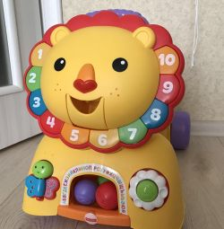 Süper Lion Fisher Price 3 in 1, yeni