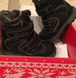 Winter boots 25 r, new PUUHTU