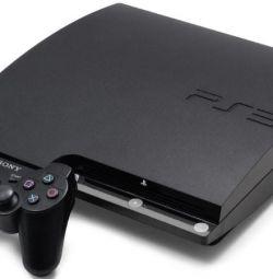 PS3 Slim \ Super Slim + game