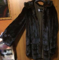 Mink fur coat, in perfect condition !! size 48-50