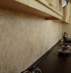 Application of decorative plaster