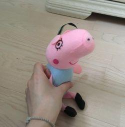 Игрушка свинка пэппа пэпа пепа