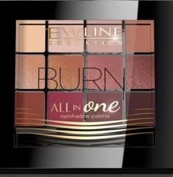 VELINE Eyeshadow No. 3 - ROSE ALL IN ONE Series
