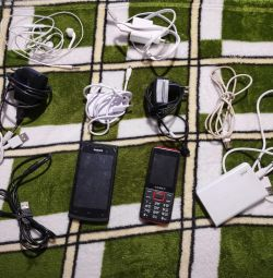 Chargers, portable charging, phones