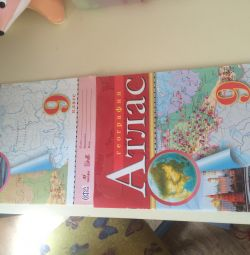 Textbooks, atlases 4,5,6,7,8 class