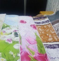 Одеяло новое 1.5, 2x , евро, любых размеров