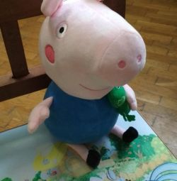Toy from the cartoon Pig Peppa