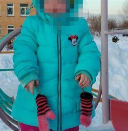 Куртка, полукомбинезон зима.