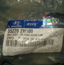 2 new bolt hole hyundai kia 552202h100