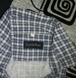 Фланелева сорочка для хлопчиків